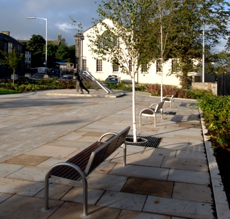Lochgelly town square public realm improvements