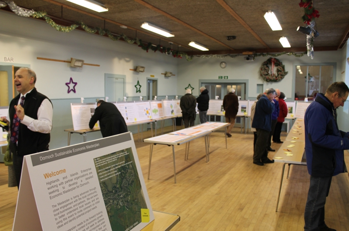 Community Engagement. Dornoch Economic Masterplan