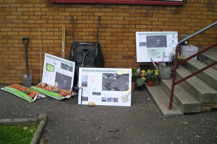 Community Engagement. Gowkthrapple Community Garden