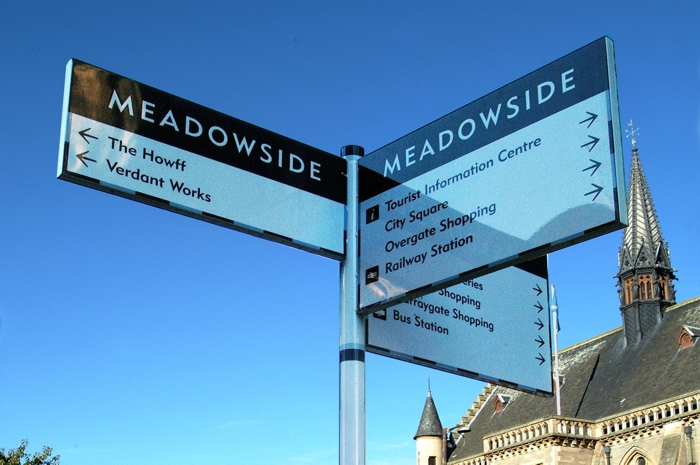 Dundee City Visitor Signs Design