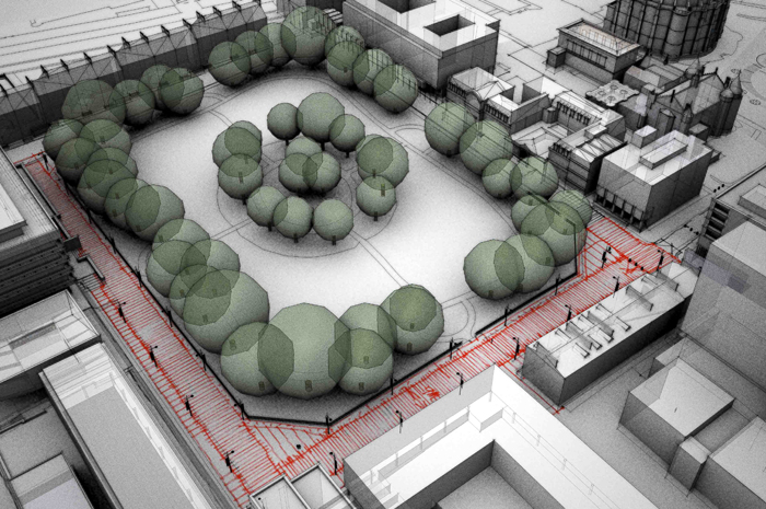 Edinburgh University Central Campus - Landscape Masterplan