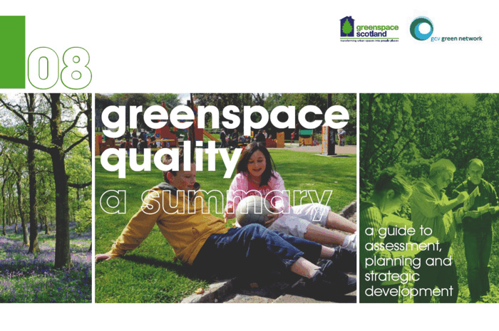 Greenspace Planning and Research