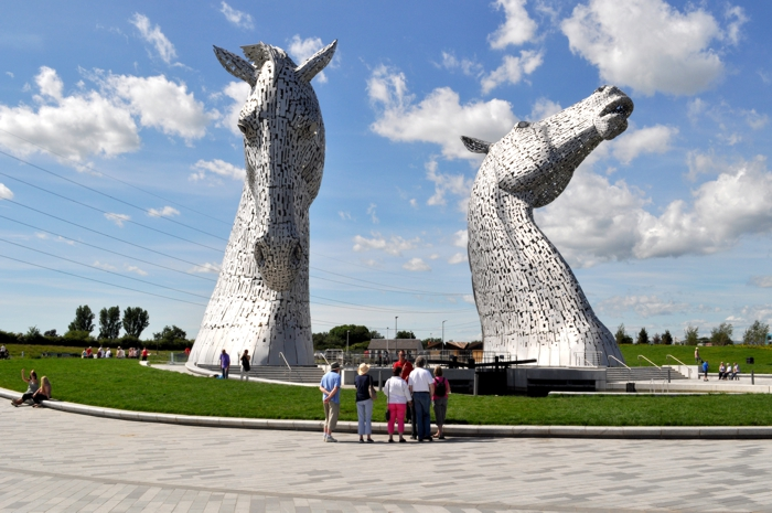 the Helix Park, the Kelpies Hub Plaza