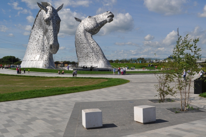 the Helix Kelpies Hub Public Realm Design