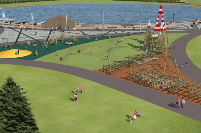the Helix Play Park Visualisation