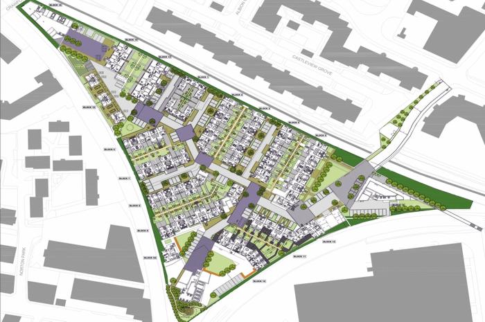 Lochend Urban Eden Housing Landscape Masterplan