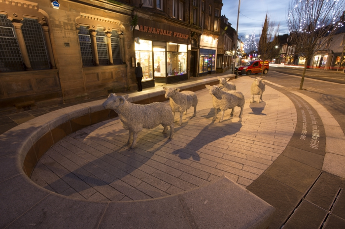 Lockerbie Town Centre Public Realm. Streetscape Improvements.