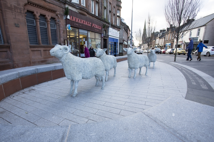 Lockerbie Town Centre Public Realm Enhancement