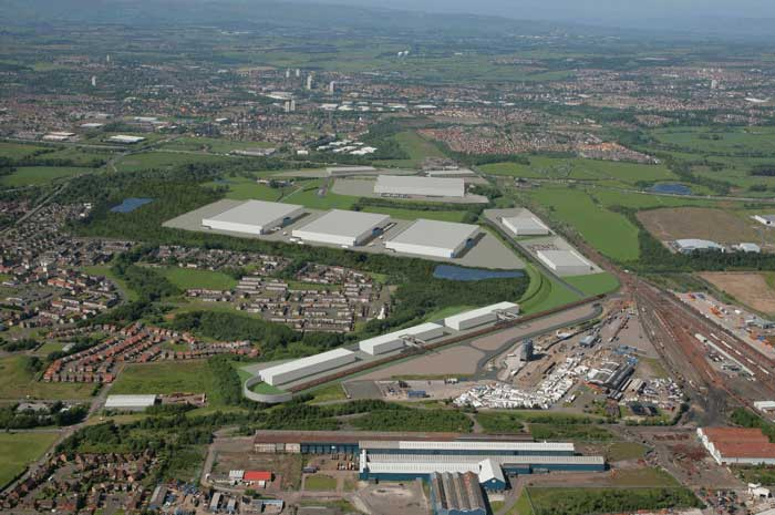 Mossend International Railfreight Park