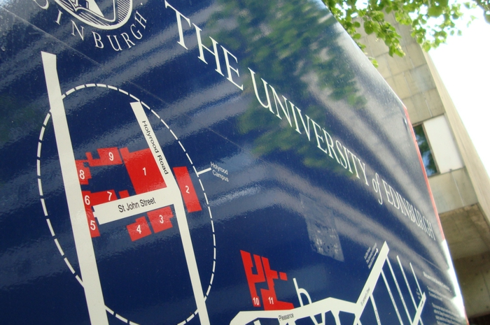 University of Edinburgh Signage Strategy & Design